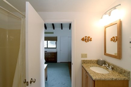 East Dennis Cape Cod vacation rental - Upper level Full bath
