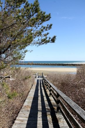 East Dennis Cape Cod vacation rental - Beach path