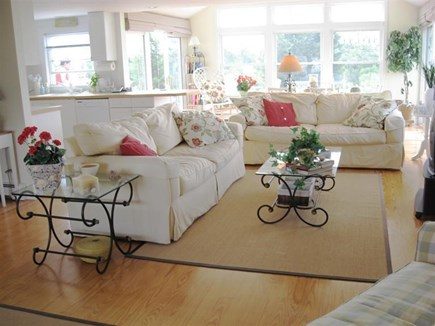 Centerville Centerville vacation rental - Bright and airy beach house interior with open floor plan.