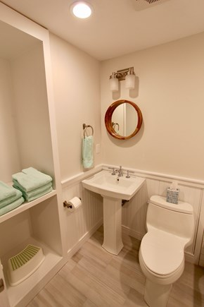 East Falmouth Cape Cod vacation rental - Guest Full Bathroom with tub