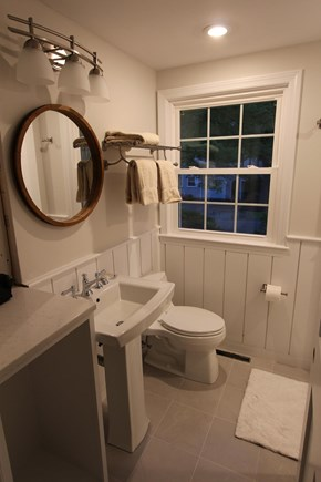 East Falmouth Cape Cod vacation rental - Patio Suite Bathroom with shower