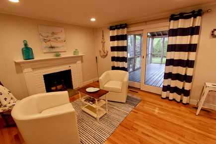 East Falmouth Cape Cod vacation rental - Sitting room off Screened-in Porch