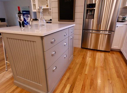 East Falmouth Cape Cod vacation rental - Kitchen Island