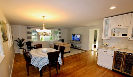 East Falmouth Cape Cod vacation rental - Dining Room & Living Room