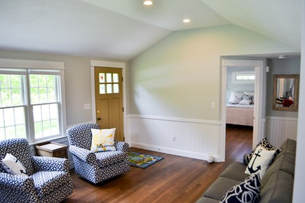 Mashpee, Popponesset Cape Cod vacation rental - Bright living space with ample seating.