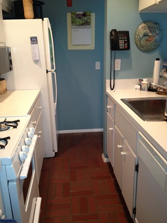New Seabury, Mashpee New Seabury vacation rental - Fully-equipped galley kitchen accesses living rm and dining rm.