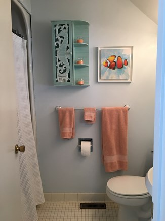 New Seabury, Mashpee New Seabury vacation rental - Downstairs full bath across hall from downstairs bedroom.