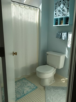New Seabury, Mashpee New Seabury vacation rental - Upstairs master bath with skylight.