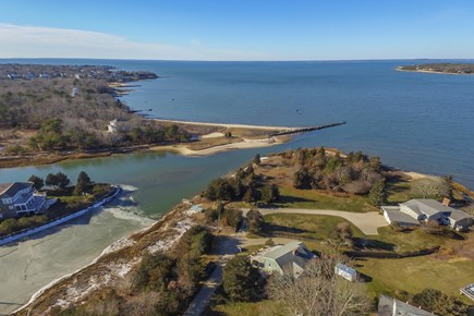 Falmouth Cape Cod vacation rental - Waterfront on salt water canal leading out to Buzzards Bay