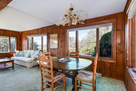 Falmouth Cape Cod vacation rental - Dining Room with more views!