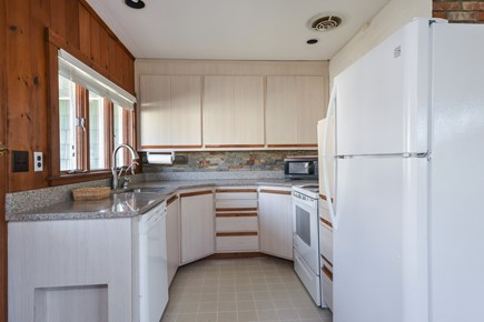 Falmouth Cape Cod vacation rental - Small yet efficient kitchen!