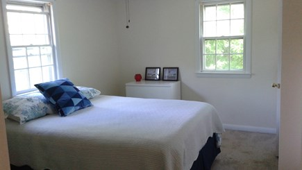 South Dennis Cape Cod vacation rental - Master Bedroom with Queen Bed & Ceiling Fan