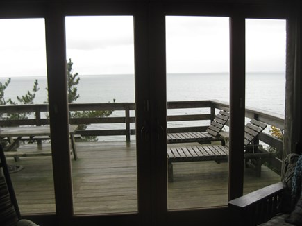 Truro Cape Cod vacation rental - Water view from Living Room
