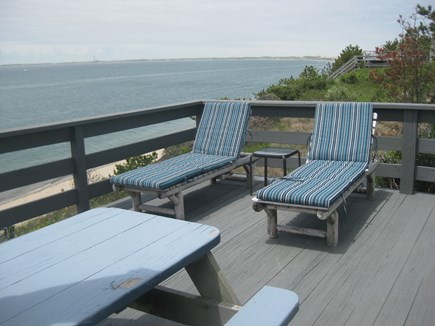 Truro Cape Cod vacation rental - View from the deck