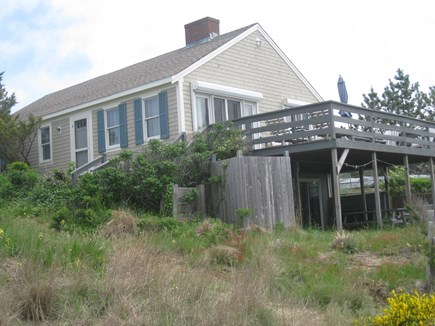 Truro Cape Cod vacation rental - View of home and deck 2019
