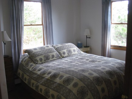 Truro Cape Cod vacation rental - Upstairs queen, bedroom, bathroom in hall , close