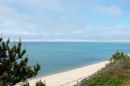 Truro Cape Cod vacation rental - A view from the deck over Cape Cod Bay