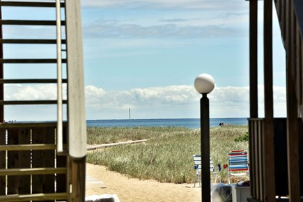 Provincetown Cape Cod vacation rental - From the front door to the beach is just a few steps...