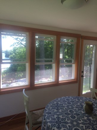 Centerville Centerville vacation rental - Sunporch - dining area with water view