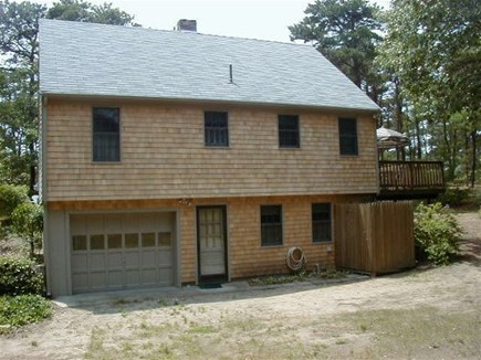 Eastham Cape Cod vacation rental - Back of house/Outside Shower