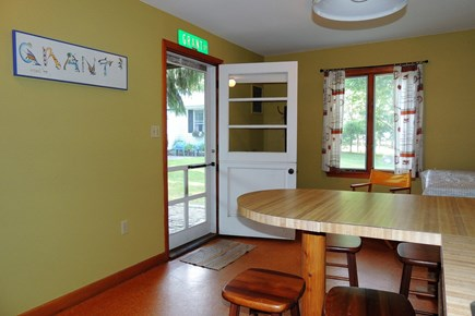 Harwich Port Cape Cod vacation rental - Kitchen in the Barnacle