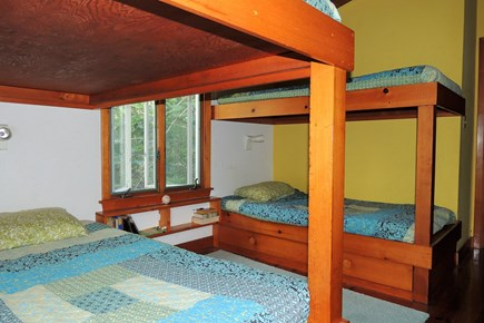 Harwich Port Cape Cod vacation rental - Second Bedroom with two sets of bunks