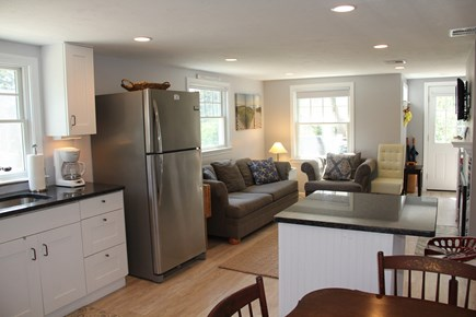 Brewster Cape Cod vacation rental - Looking into living area from kitchen