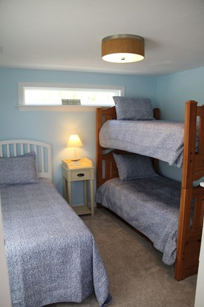 Brewster Cape Cod vacation rental - Cozy Bunk Room with 3 Twin Beds
