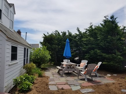 North Truro Cape Cod vacation rental - Exclusive Use Backyard Patio With Grill