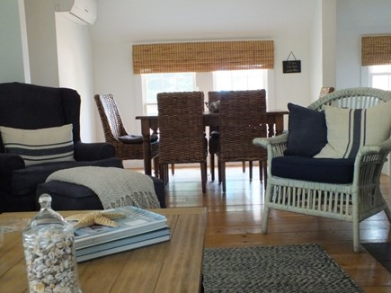 North Truro Cape Cod vacation rental - Living/Dining Area