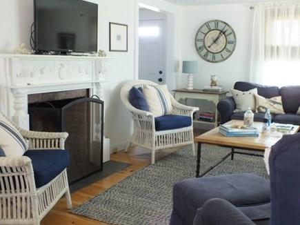 North Truro Cape Cod vacation rental - Living Room