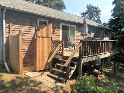 South Chatham Cape Cod vacation rental - Deck & Outdoor shower