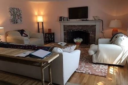 South Chatham Cape Cod vacation rental - Living room (alternate view)