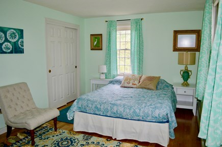 South Chatham Cape Cod vacation rental - Bed 1: Queen sized bed, adjoining bath