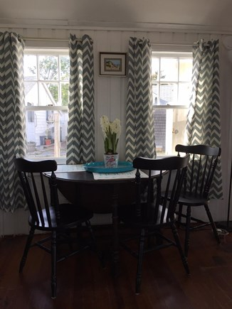 Dennis Port Cape Cod vacation rental - Dining area that seats four comfortably