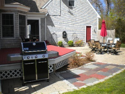 East Dennis Cape Cod vacation rental - Tempus Deck, BBQ Grill, and Patio