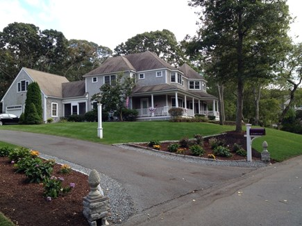 East Dennis Cape Cod vacation rental - Side view of home