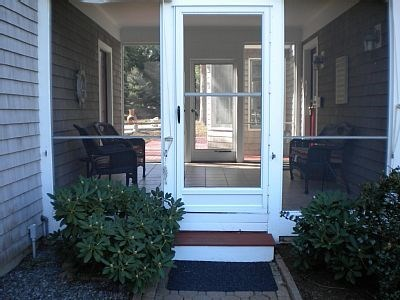 East Dennis Cape Cod vacation rental - Screened In Porch