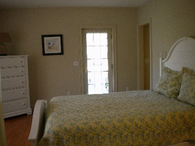 East Dennis Cape Cod vacation rental - Master Bedroom on 1st floor with Jacuzzi, and full bath.