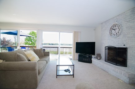 Falmouth Cape Cod vacation rental - Main living is on 2nd floor - Living room