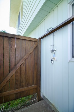 Falmouth Cape Cod vacation rental - Outside shower