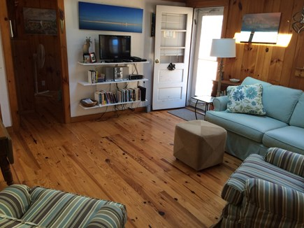 Wellfleet Cape Cod vacation rental - Entrance and living room