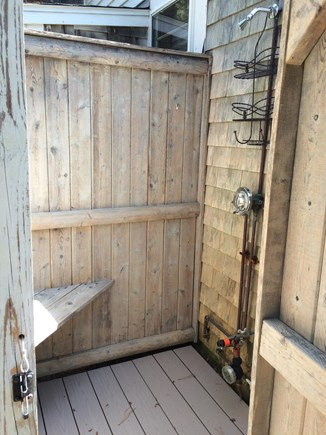 Wellfleet Cape Cod vacation rental - Outdoor showers are a tradition on Cape Cod!