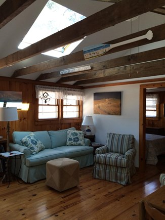 Wellfleet Cape Cod vacation rental - Bright and sunny living area