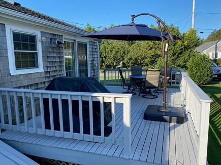 Surf Drive Beach, Falmouth Cape Cod vacation rental - Deck