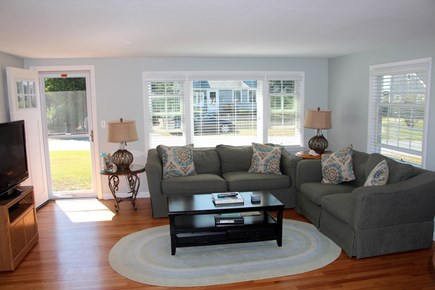 Surf Drive Beach, Falmouth Cape Cod vacation rental - View of living area from kitchen