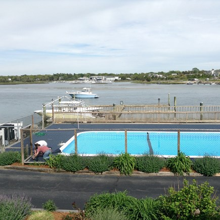 South Yarmouth Cape Cod vacation rental - Heated pool on Bass River