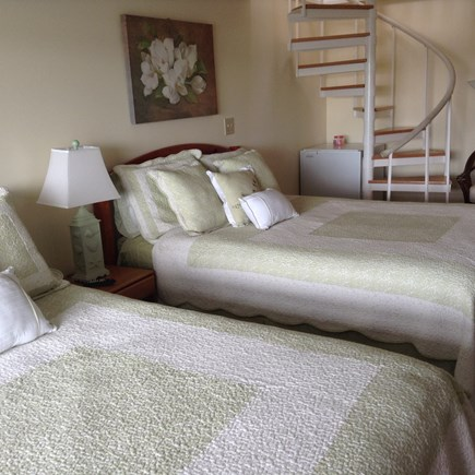 South Yarmouth Cape Cod vacation rental - Spiral staircase leading to downstairs bedroom