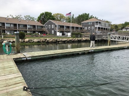 South Yarmouth Cape Cod vacation rental - Dock with units in the background
