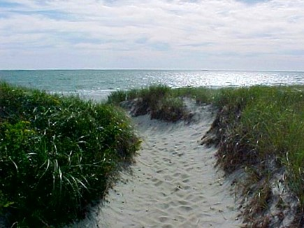West Dennis Cape Cod vacation rental - Just step over the dune